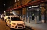 Three stabbed, including police officer, at Manchester train station