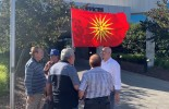 (VIDEO) The Macedonians resisted to take down the Macedonian flag in front of the Whittlesea Council